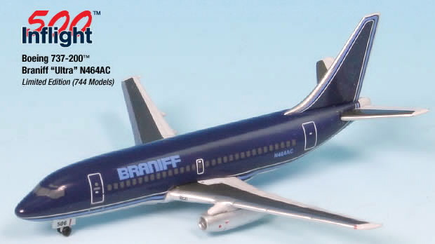 INFLIGHT 200 AND 500 SCALE AIRPLANE MODELS